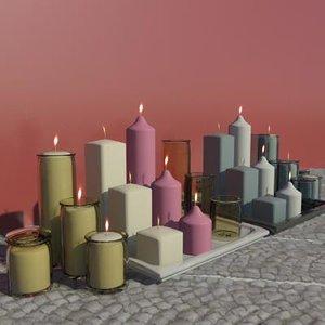 maya misc votive candles