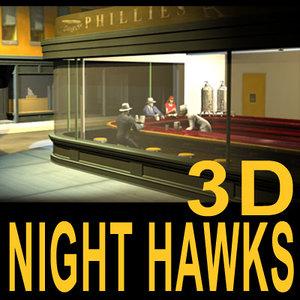 maya night hawks 01 diner