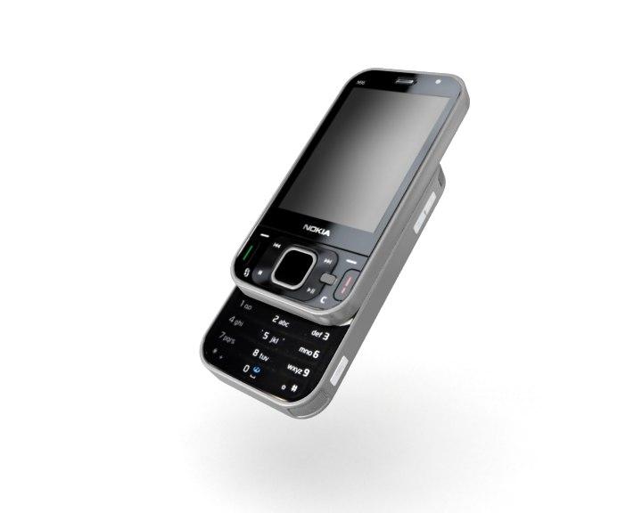 nokia n96 3d model