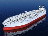 3d obj oil tanker