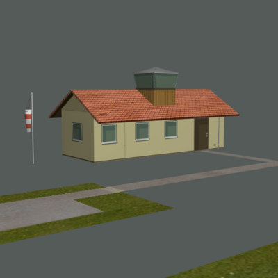 3ds max rc airfield