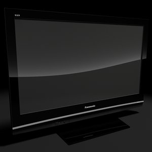 panasonic hd plasma 3d model