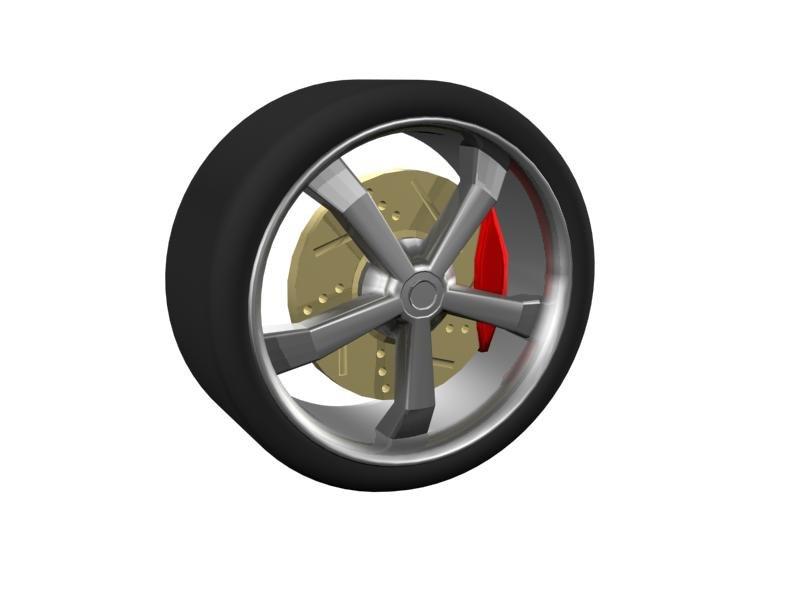 proflie rim 3d model