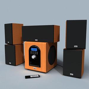 max 5 1 speaker