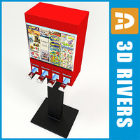 sticker vending machine 3d 3ds