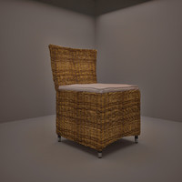 3ds max rattan chair