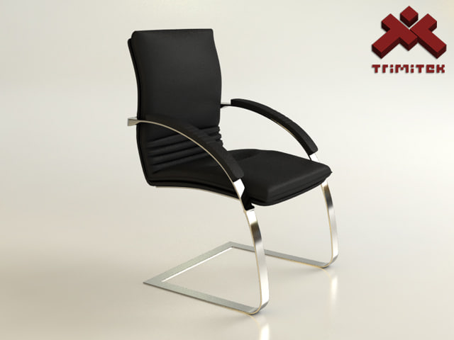 3ds leather office chair