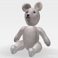 3dsmax toy bear