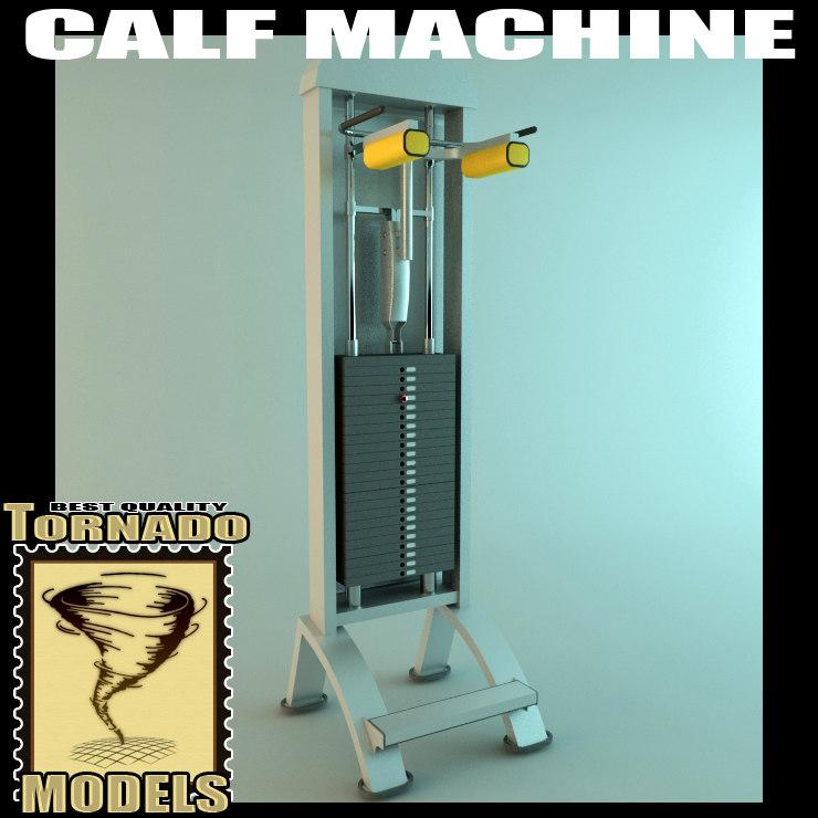 calf machine 3ds