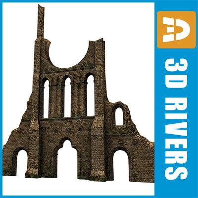 wall catholic 3d model