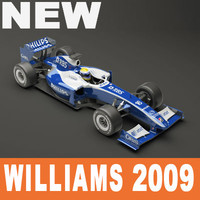 Williams F1 2009 Vray