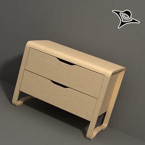3d ikea furniture rendered model