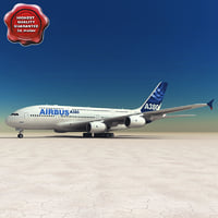 airbus a380 3d 3ds
