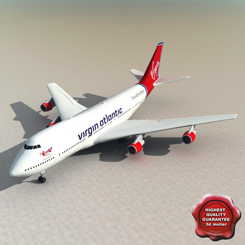 3ds 747 virgin atlantic
