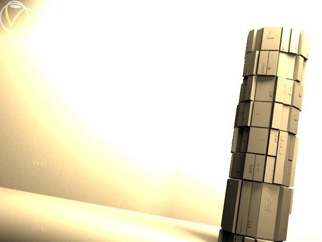 3d model future skyscraper