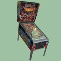 cactus canyon pinball machine 3d max