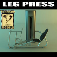 3d leg press machine