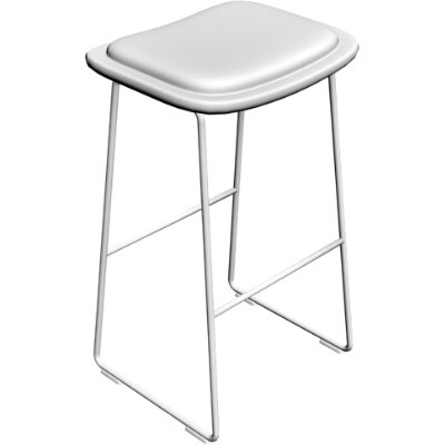 maya contemporary bar stool