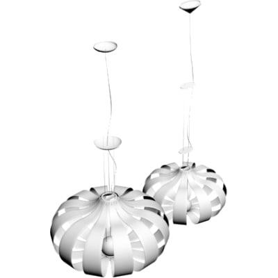 3d contemporary pendant light
