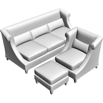 maya sofa armchair