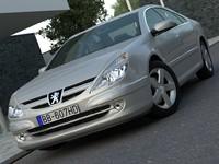 sedan luxury 3d model