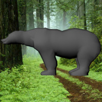 3ds max base mesh bear