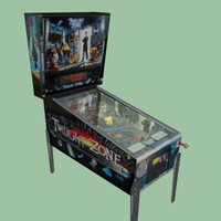 3d classic pinball machine twilight
