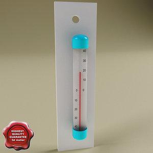 maya thermometer modelled standard