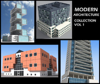 3d modern architecture vol 1