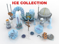 ice level 3d model