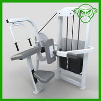 arm extension 3d model