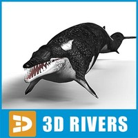 Basilosaurus by 3DRivers