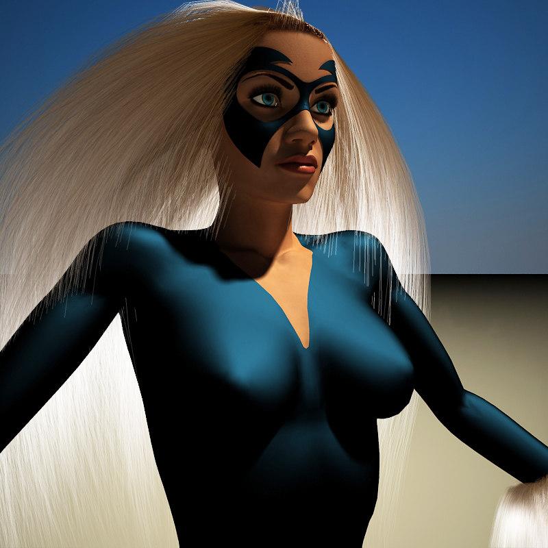 black cat 3d model