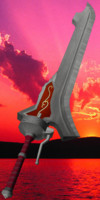 3d swords devil model
