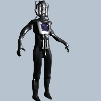 cyberman dr 3ds