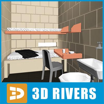 maya prison cell