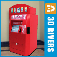 DVD vending machine by 3DRivers