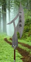 3d rune axe model