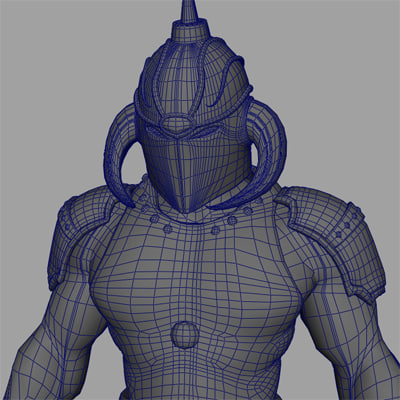 death dealer character 3d model