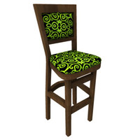 bar chair 3d fbx