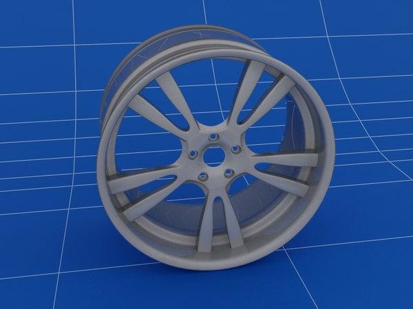 3ds max 5 car rims wheels