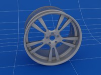 3ds max 5 car rims wheels