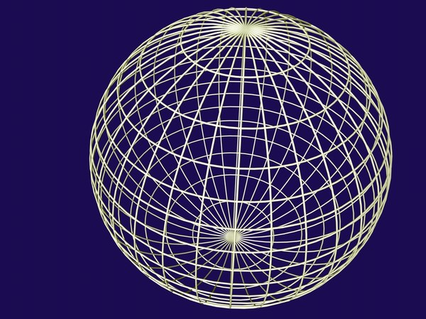 free 3ds mode sphere grid