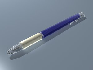 stylus 3d model