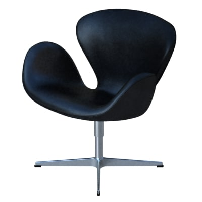 3ds swan lounge chairs fritz hansen