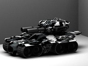3d max tank siege