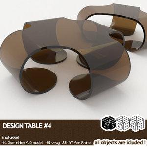 3d rhinoceros design