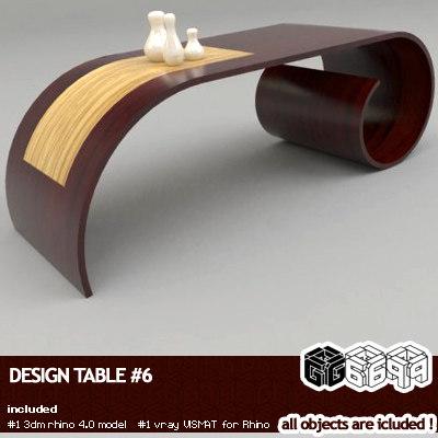 3d rhinoceros design model