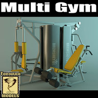 multi gym machine scene max