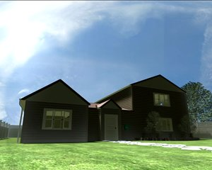 storey house 3d model